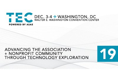 Come See Us at the Technology Exploration Conference (TEC) in D.C.