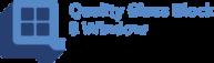 quality glass block logo